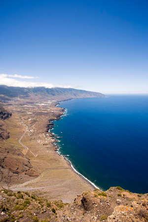 golfo: El Golfo, bay at the western coast of El Hierro, Canary Islands Stock Photo