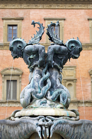 erected: fountain erected 1640 on Piazza Santissima Annunziata, Florence, Italy