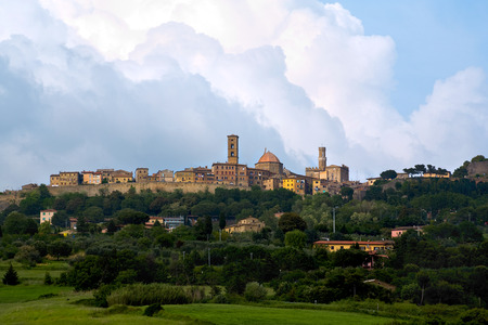 volterra: medieval city of Volterra, Tuscany, Italy