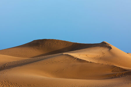 grand canary: golden sand dune at Maspalomas, Grand Canary, Canary Islands