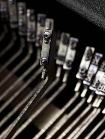 typebar: question mark typebar from vintage typewriter