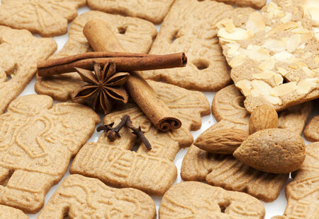 speculaas: dutch speculaas cookies and spices