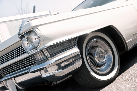 Detail of 1960 Cadillac Coupe de Ville