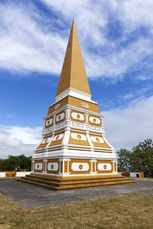 King Pedro Obelisk above the city of Angra do Heroismo on Terceira Island