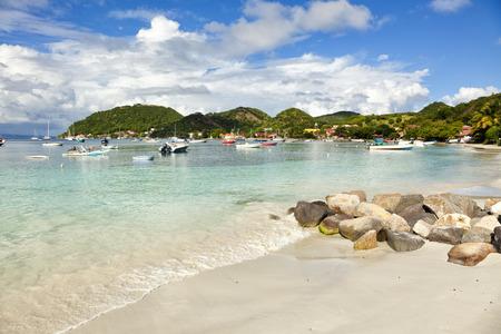 guadeloupe: The beach of Terre-de-haut, Les Saintes, Guadeloupe archipelago
