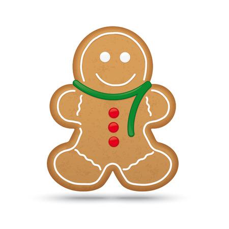 gingerbread cake: Gingerbread Man Illustration Illustration