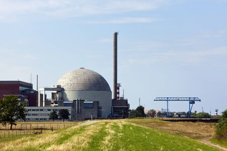 nuclear power: Defunct nuclear power plant at Stade, Lower Saxony, Germany Editorial