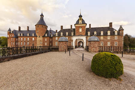 18th century: 18th century moated castle Anholt, Isselburg, North Rhine-Westphalia