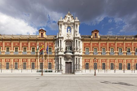 presidency: San Telmo Palace at Seville, seat of the presidency of the Andalusian Autonomous Government Editorial