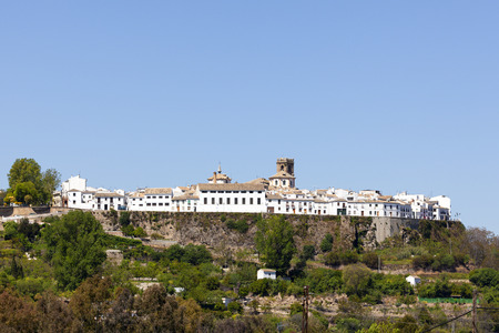 fortify: The fortified town of Priego de Cordoba, Andalusia, Spain Stock Photo