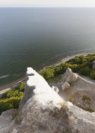 mecklenburg western pomerania: Remains of Wissower Klinken chalk cliffs on Ruegen Island , Mecklenburg-Western Pomerania, Germany