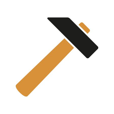 do it: hammer, construction and home improvement tool icon