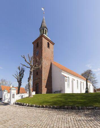 Church at Ebeltoft, Djursland, Denmark