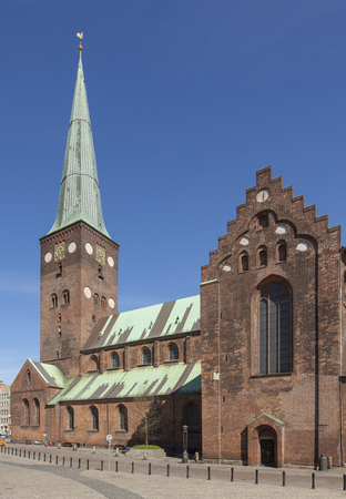 13th century Cathedral at Aarhus