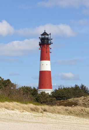 Hornum lighthouse on the southern tip of Sylt