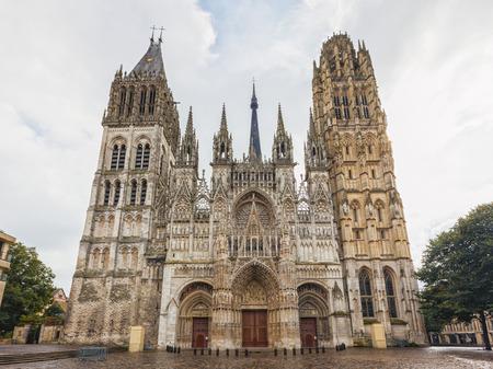 La catedral de Rouen en Francia Foto de archivo - 87598427
