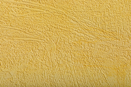 Abstract yellow background with paint texture