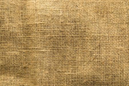 Burlap or sackcloth closeup background