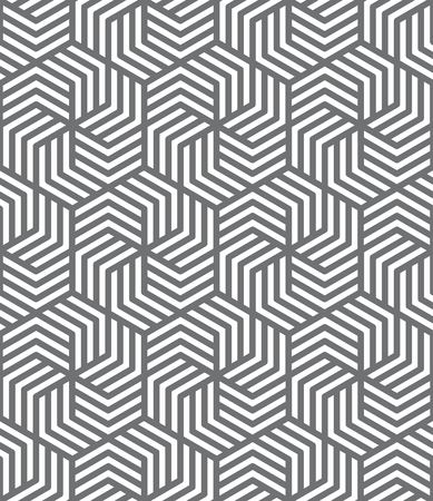 Abstract hexagonal seamless background pattern vector illustration