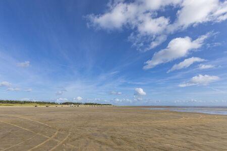 South beach on North Sea island of Rømø, Denmark