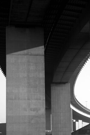 industrie: close up of a viaduct