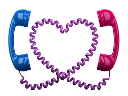 Love on the line Stock Photo - 18301668