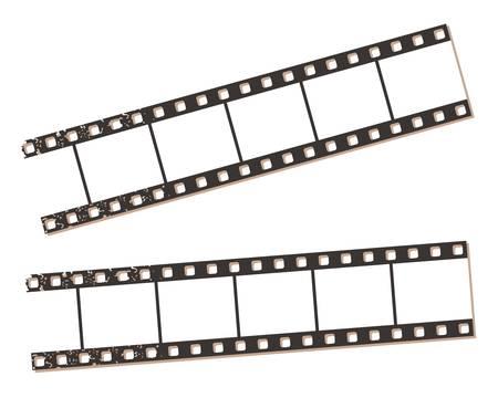 Film strip banners