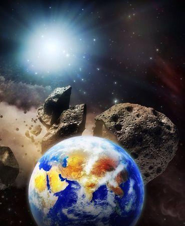 meteorites: earth