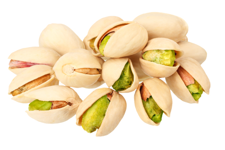 pistachio isolated on a white background. Food