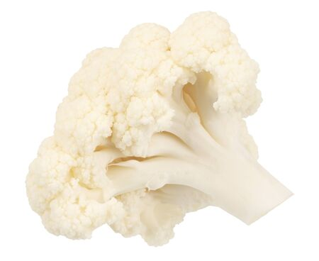 Cauliflower isolated on a white background. Food Reklamní fotografie