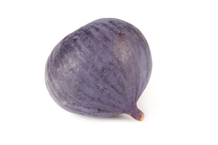 One fig isolated on a white background. Food 版權商用圖片