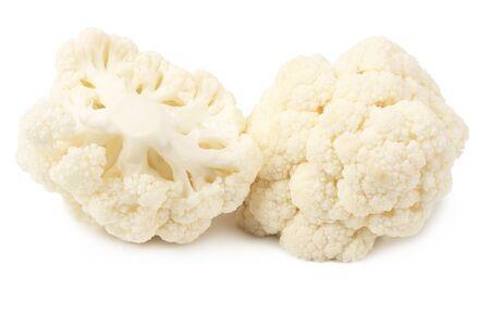 Cauliflower isolated on a white background. Food Reklamní fotografie