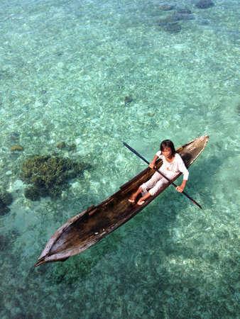 mabul: Bajau laut Mabul Island Semporna Sabah Malaysia