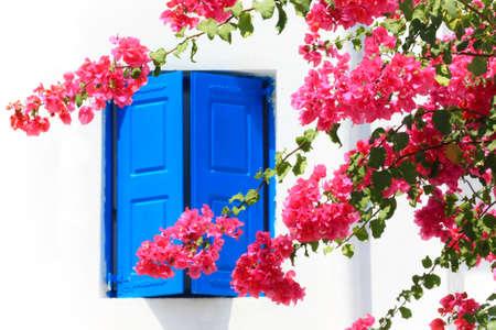 house in Mykonos island  Stock Photo