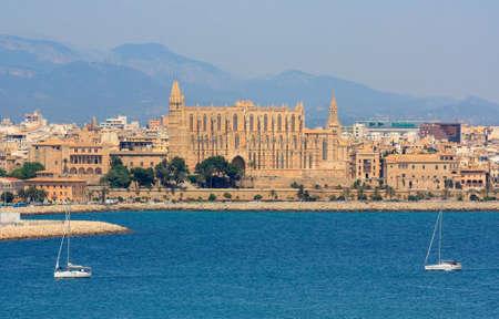 Cathedral in Palma de Mallorca, Spain