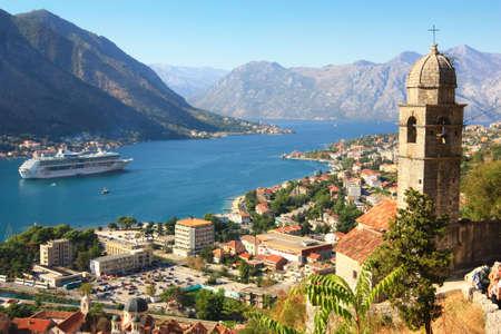 Kotor bay and fortress