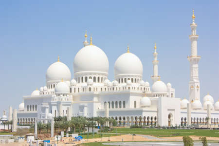 largest: Sheikh Zayed Grand Mosque in Abu Dhabi