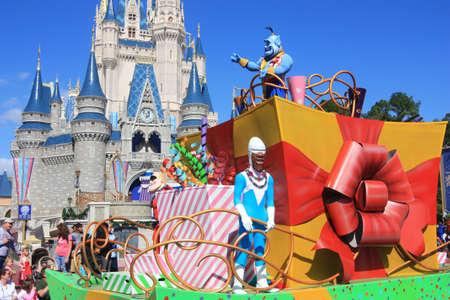 Magic Kingdom in Disney World and Parade