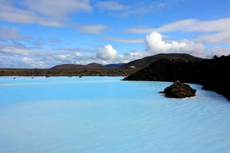 water's: Blue Lagoon geothermal spa in Iceland