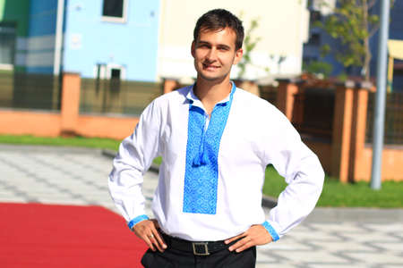 young ukrainian patriot