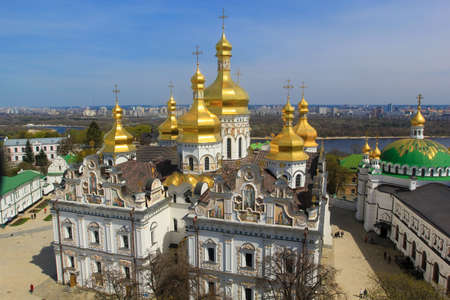 kiev cathedral Stock Photo