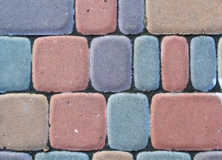 colorful bricks for flooring background