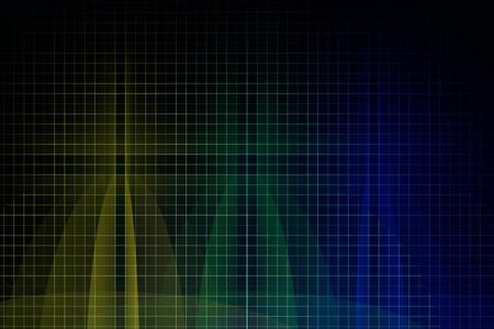 render: Silicon wafer 3d render