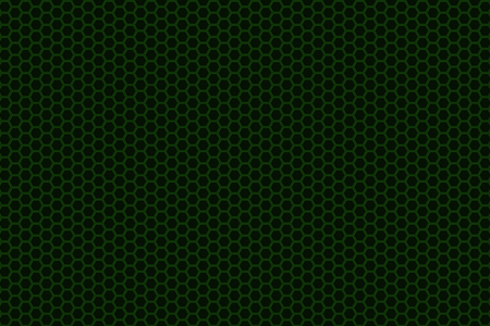 speaker grill: Abstract background whith brushed metal hexagon grille, speaker grill, 3d render illustration