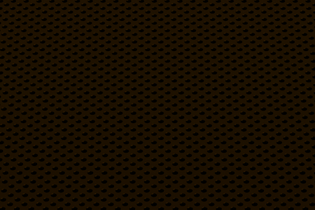metal black: Circular speaker grille, abstract background, 3D render illustration Stock Photo
