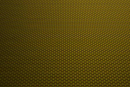 speaker grille pattern: Rectangular metal grate, speaker grille, abstract background, 3D render illustration