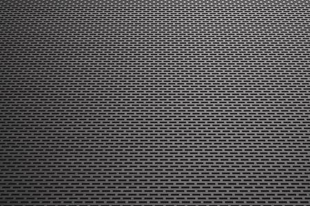 metal grate: Rectangular metal grate, speaker grille, abstract background, 3D render illustration