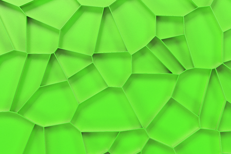 Abstract colored 3d voronoi grate on colored background. Speaker grille. Chaotic line structure. 3D render illustration
