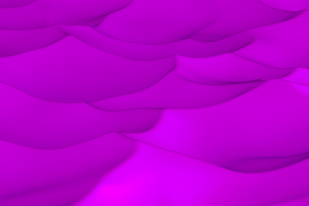 sculpted: Violet abstract background. Randomly displaced 3d surface. Voronoi pattern. 3D rendering illustration