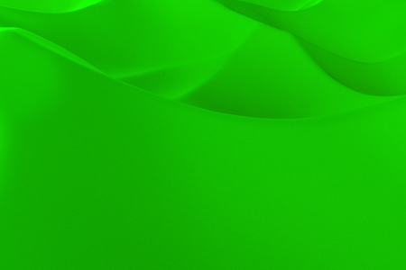 Green abstract background. Randomly displaced 3d surface. Voronoi pattern. 3D rendering illustration